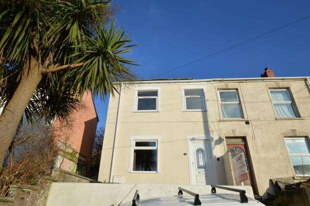 3 Bedrooms Semi Detached House for sale in New Road, Higher Brea, Camborne, Cornwall