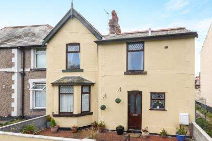 2 Bedrooms Semi Detached House for sale in Warren Road, Prestatyn, Denbighshire, LL19