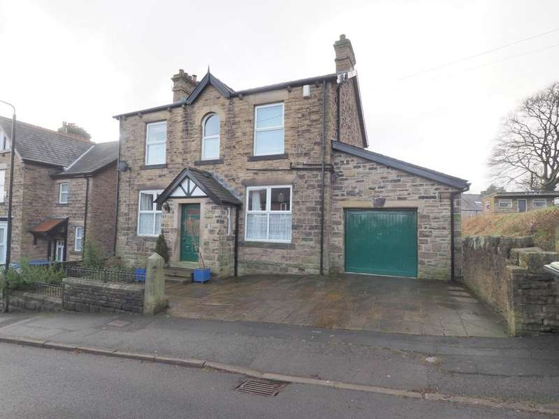 3 Bedrooms Detached House for sale in Longlands Road, New Mills, High Peak, Derbyshire, sk22 3BL