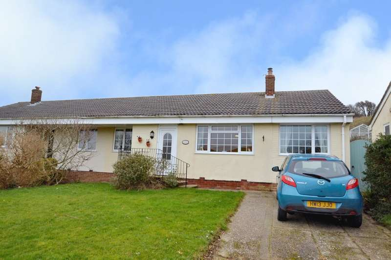 3 Bedrooms Semi Detached Bungalow for sale in Greenlydd Close, Niton