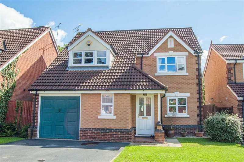 4 Bedrooms Detached House for sale in Castlemere Close, Broughton, Flintshire, Chester