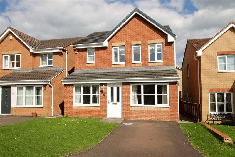 3 Bedrooms Detached House for sale in Holwick Close, Consett, County Durham, DH8