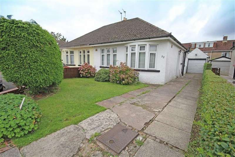 2 Bedrooms Semi Detached Bungalow for sale in Glas-Y-Pant, Whitchurch, CARDIFF