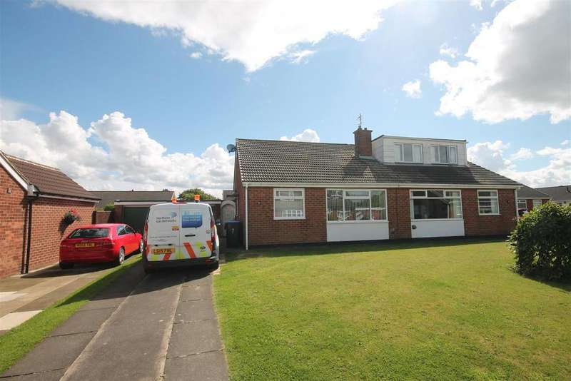 2 Bedrooms Semi Detached Bungalow for sale in Askern Drive, Middlesbrough