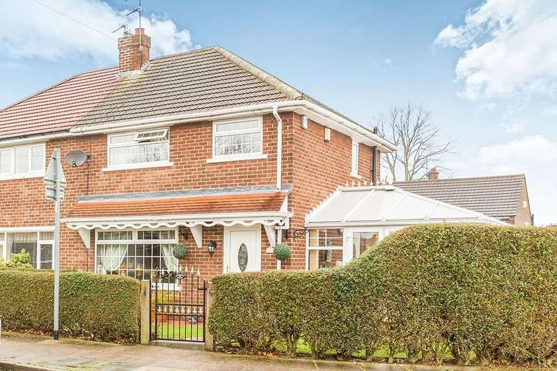 3 Bedrooms Semi Detached House for sale in St. Wilfrids Road, Bessacarr, Doncaster, DN4