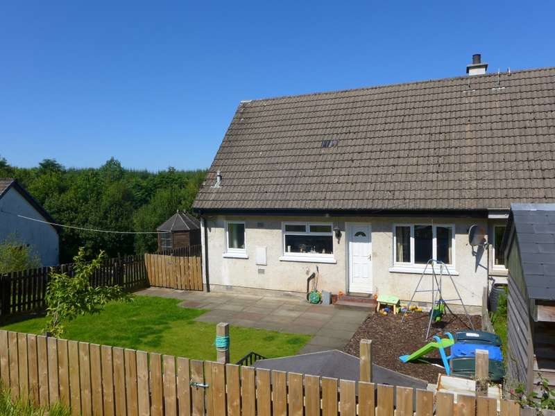 3 Bedrooms End Of Terrace House for sale in 4 Letter Daill, Cairnbaan, Lochgilphead, PA31 8SX