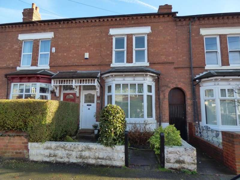 4 Bedrooms Terraced House for sale in Grosvenor Road, Harborne, Birmingham, B17 9AN