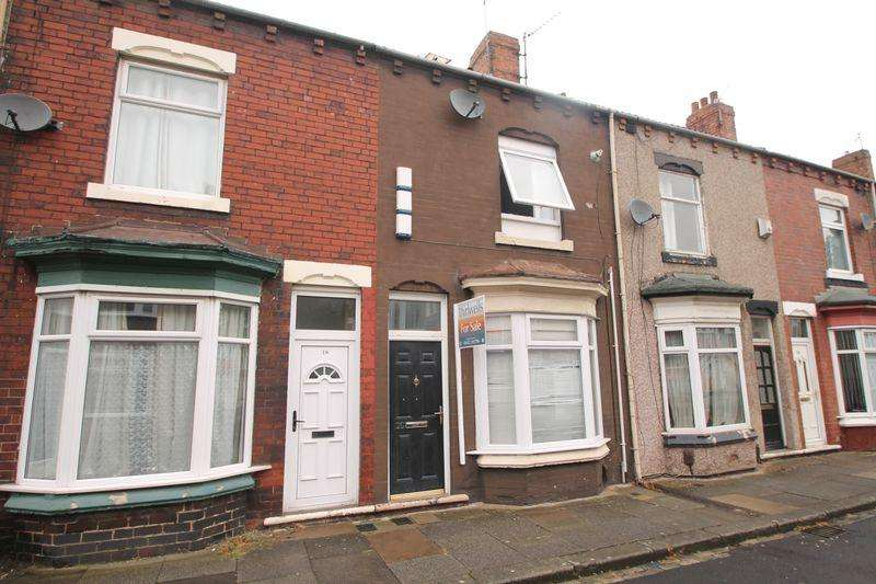 3 Bedrooms Terraced House for sale in Kindersley Street, Middlesbrough
