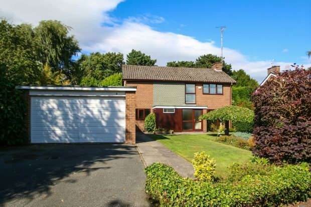 4 Bedrooms Detached House for sale in Ashworth Close, Bowdon