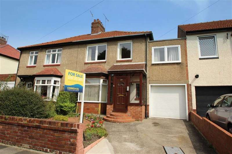 4 Bedrooms Semi Detached House for sale in Haig Avenue, Whitley Bay, Tyne & Wear, NE25
