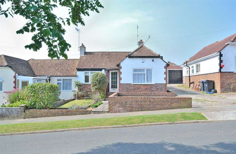 3 Bedrooms Semi Detached Bungalow for sale in St James Avenue, North Lancing, West Sussex, BN15