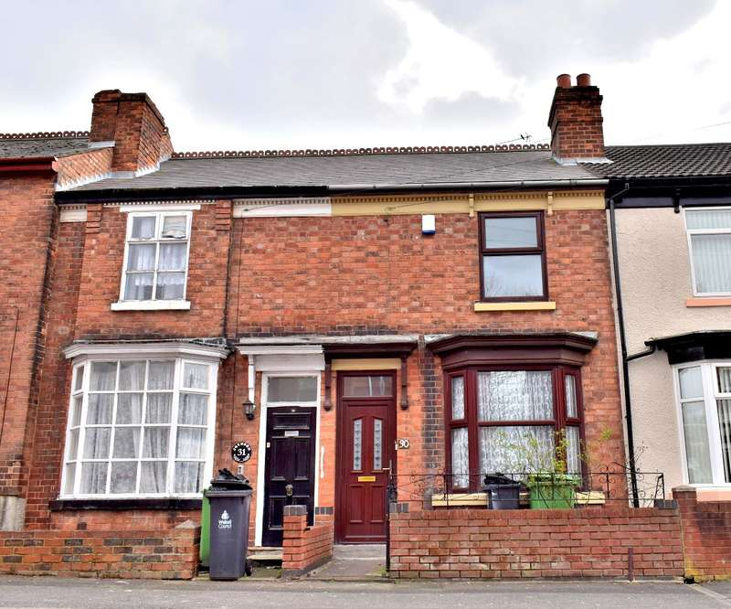3 Bedrooms Terraced House for sale in Joyson Street, Wednesbury, WS10 9HZ
