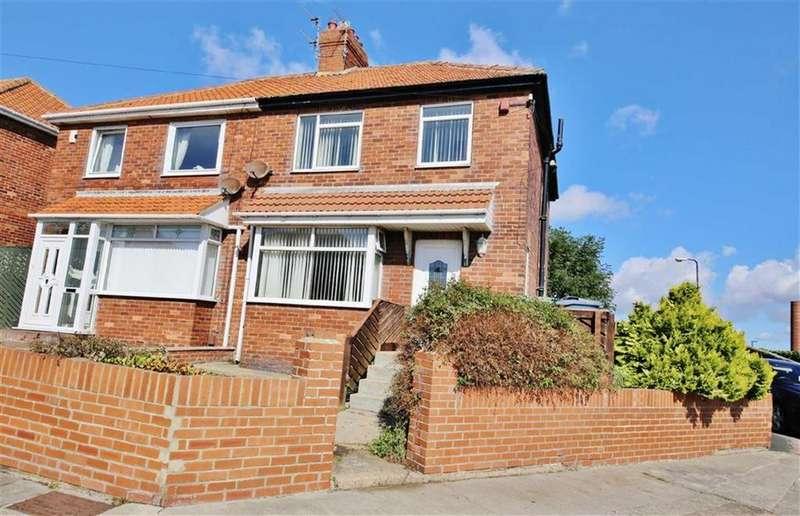 3 Bedrooms Semi Detached House for sale in Aysgarth Avenue, Grangetown, Sunderland, SR2