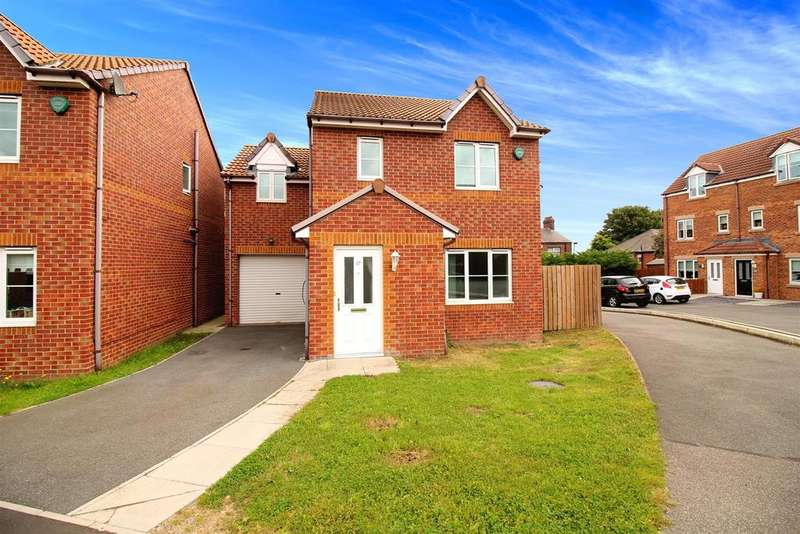 4 Bedrooms Detached House for sale in Coquet Gardens, Wallsend