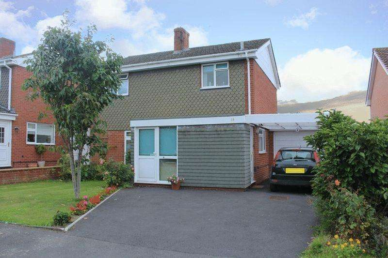 3 Bedrooms Detached House for sale in Eric Lock Road, Bayston Hill, Shrewsbury, SY3 0HQ