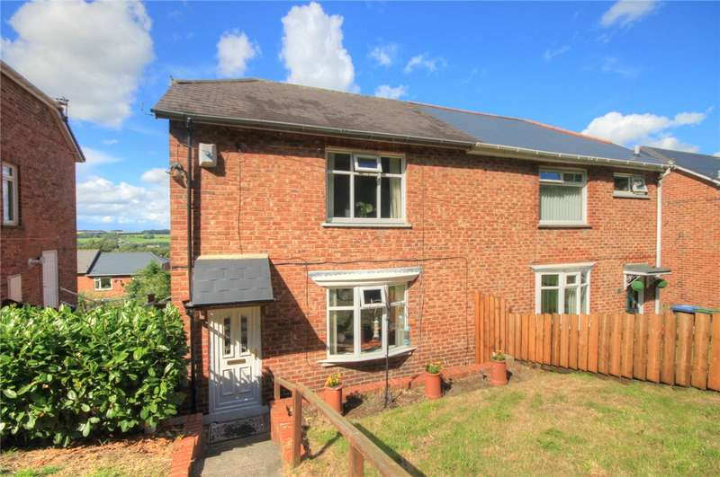 2 Bedrooms Semi Detached House for sale in Wylam Road, Stanley, Durham, DH9