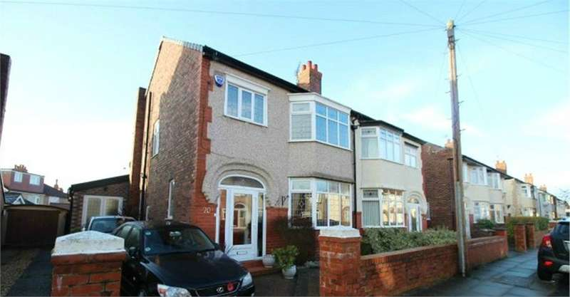 4 Bedrooms Semi Detached House for sale in Cranmore Avenue, LIVERPOOL, Merseyside