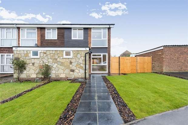 3 Bedrooms End Of Terrace House for sale in Spencer Road, Isleworth, Middlesex
