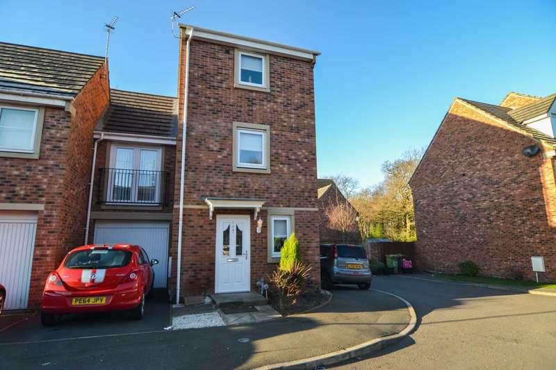 3 Bedrooms Town House for sale in Catherine Way, Newton Le Willows