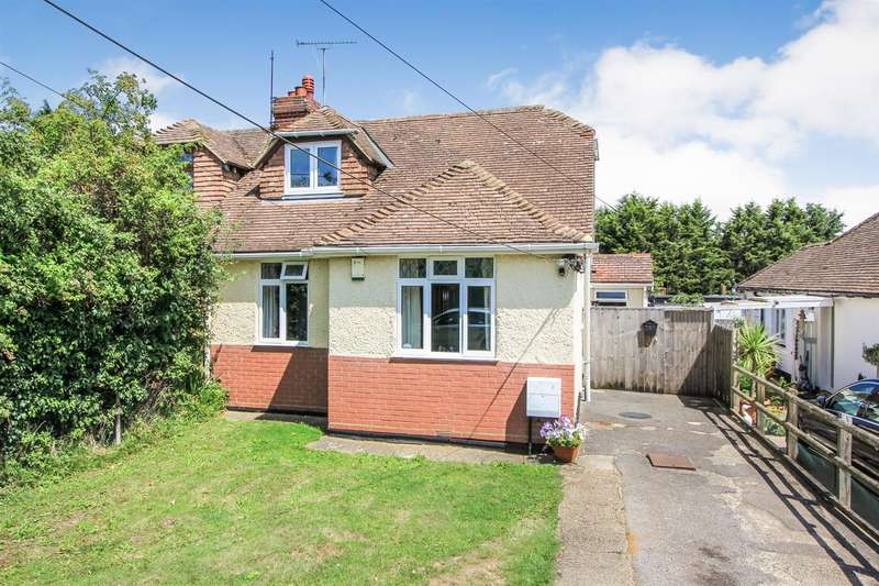 3 Bedrooms Semi Detached Bungalow for sale in Pean Hill, Whitstable