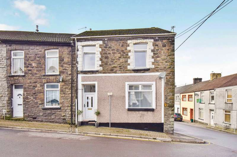 4 Bedrooms Terraced House for sale in Mary Street, Pontypridd, CF37