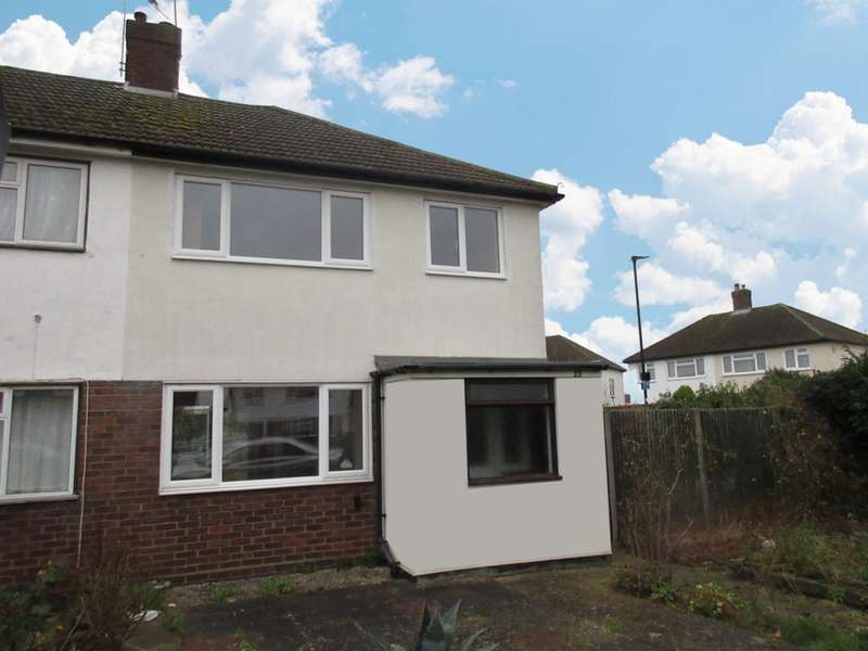 3 Bedrooms Semi Detached House for rent in Forge Lane, Feltham, TW13