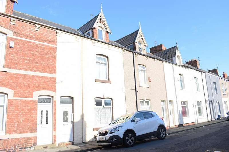 3 Bedrooms Terraced House for sale in Wharton Street, Hartlepool TS24