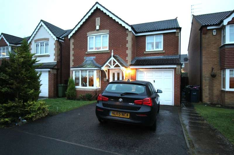 4 Bedrooms Detached House for sale in Fairfield, Houghton Le Spring, DH4