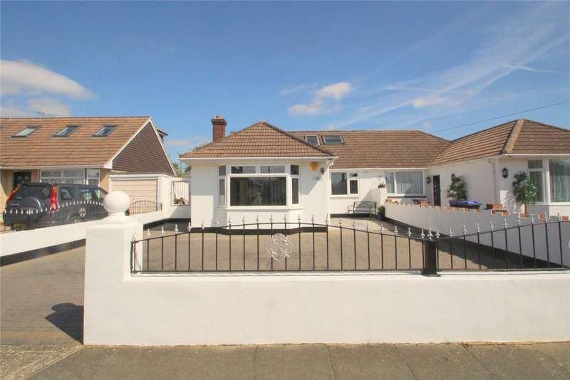 3 Bedrooms Semi Detached Bungalow for sale in Barfield Park, Lancing, West Sussex, BN15