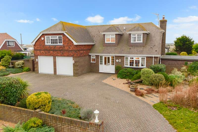 4 Bedrooms Detached House for sale in Battery Road, Lydd On Sea, Romney Marsh, TN29
