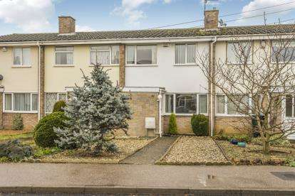 3 Bedrooms Terraced House for sale in High Street, Great Barford, Bedford, Bedfordshire