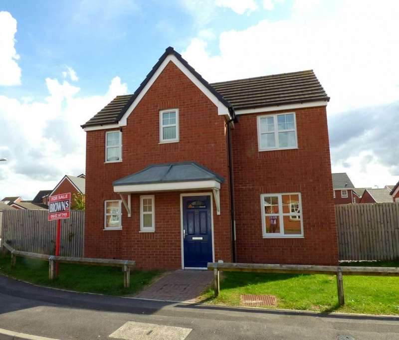 3 Bedrooms Detached House for sale in Atlantic Crescent, Thornaby, TS17