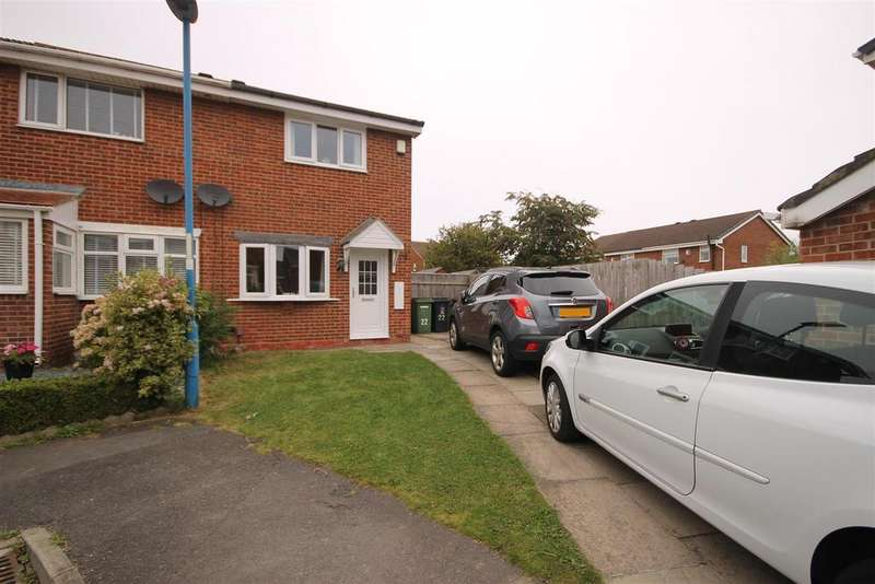 2 Bedrooms Semi Detached House for sale in Ravenwood Close, Clavering, Hartlepool