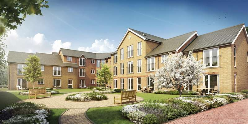 1 Bedroom Apartment Flat for sale in Carpenter Court, McCarthy & Stone