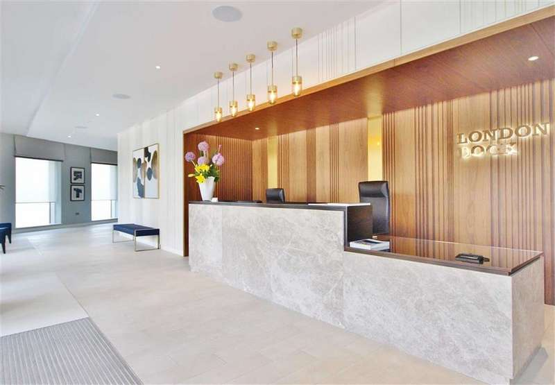 1 Bedroom Apartment Flat for sale in Admiralty Building, London Dock, London