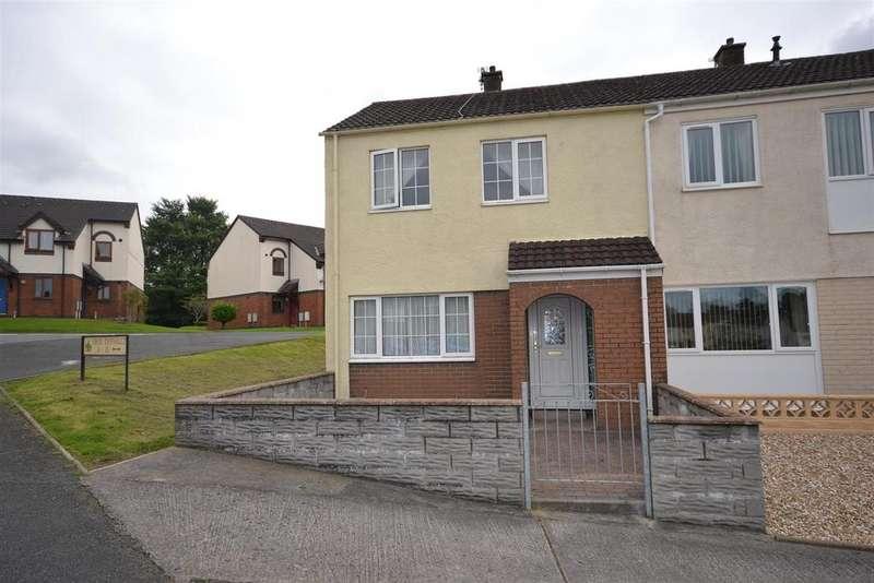 2 Bedrooms End Of Terrace House for sale in Heol Dyfnallt, Carmarthen