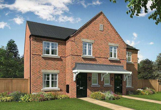 3 Bedrooms Semi Detached House for sale in Bridgewater Park, Winnington Avenue, Northwich