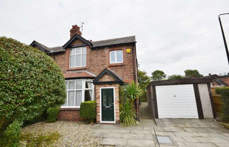 3 Bedrooms Semi Detached House for sale in Seamon's Road, Altrincham
