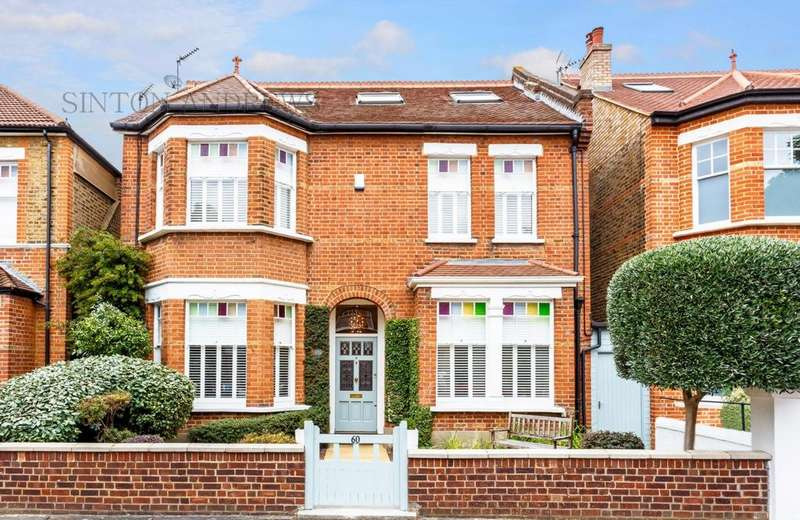 6 Bedrooms Detached House for sale in Webster Gardens, London, W5