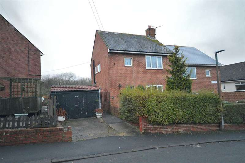 2 Bedrooms Semi Detached House for sale in Warwick Avenue, Consett