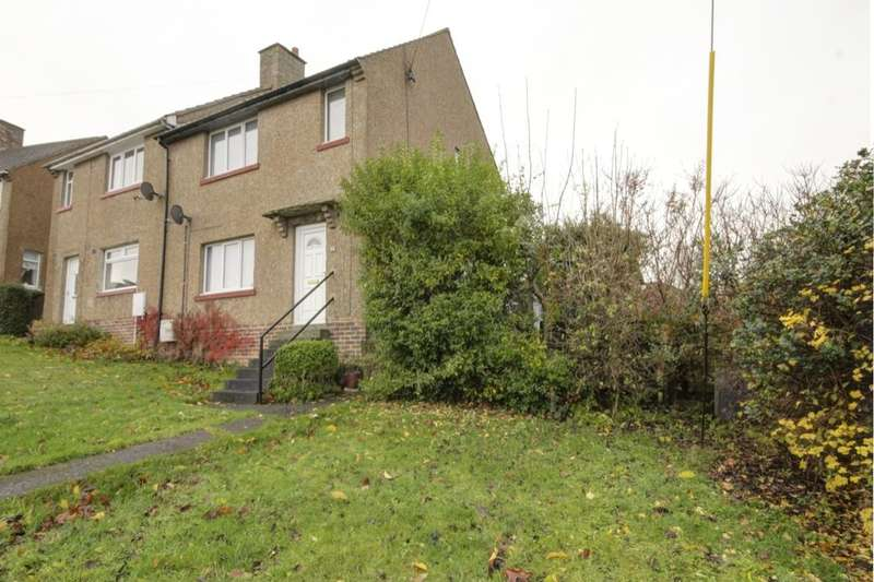 2 Bedrooms Semi Detached House for sale in Moorland Crescent, Castleside, Consett, DH8