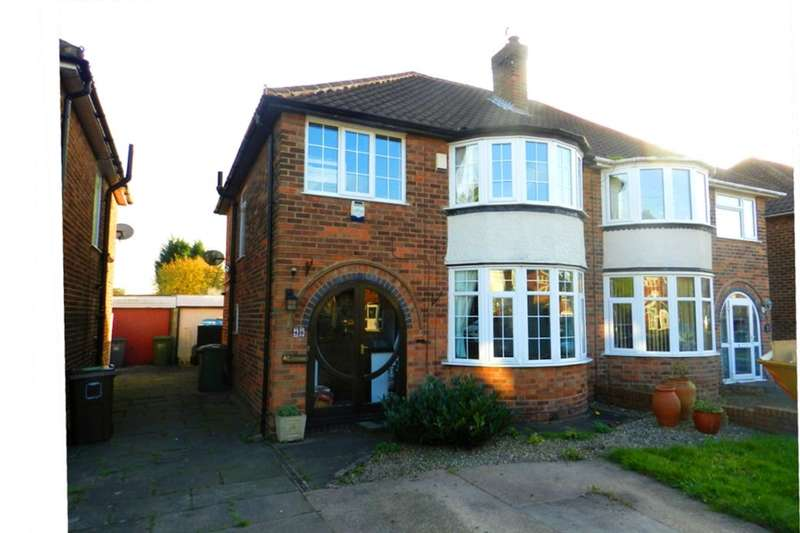 3 Bedrooms Semi Detached House for sale in Mullensgrove Road, Kingshurst, Birmingham, B37