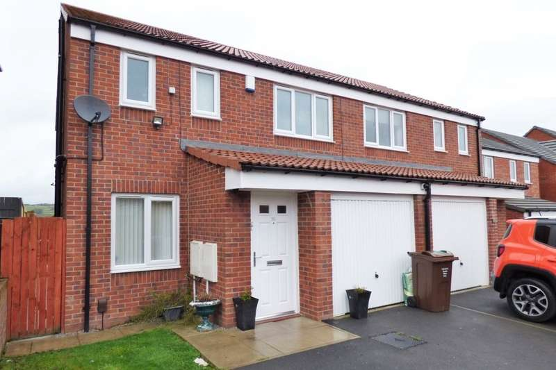 3 Bedrooms Semi Detached House for sale in Allerton View, Thornton, Bradford, BD13