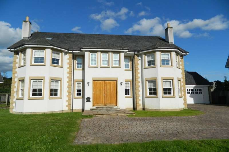 5 Bedrooms Detached House for sale in Holmwood Park, Crossford, Carluke, ML8