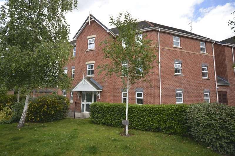2 Bedrooms Flat for sale in Bridgewater Close, Frodsham, WA6