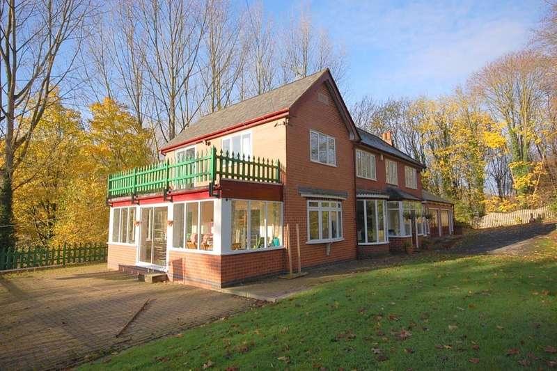 6 Bedrooms Detached House for sale in The Poplars Matlock Road, Ambergate, Belper, DE56