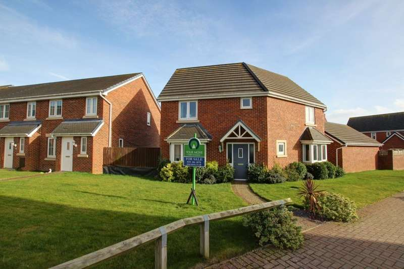 3 Bedrooms Detached House for sale in Nelson Walk, Whitworth, Spennymoor, DL16