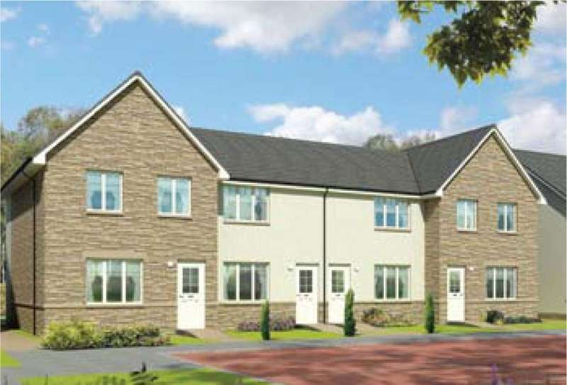 2 Bedrooms Terraced House for sale in Plot 19 Morven, Oaktree Gardens, Alloa Park, Alloa, Stirling, FK10 1QY