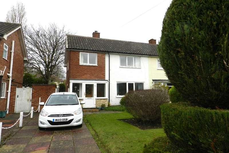 3 Bedrooms Semi Detached House for rent in Glebe Drive, Boldmere, Sutton Coldfield, B73