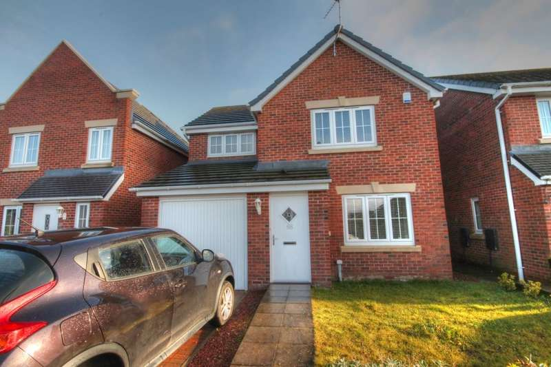 3 Bedrooms Detached House for rent in Arkless Grove, The Grove, Consett, DH8